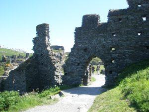Tintagel Castle on a spiritual tour of England